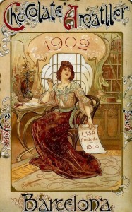 Pofta de ciocolata - Barcelona Art Nouveau