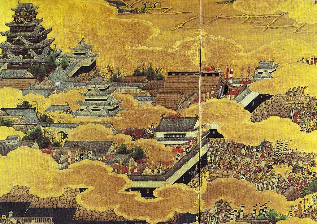 Nobila doamna din Yodo - Castelul Osaka